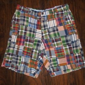 BROOKS BROTHERS MADRAS PLAID SHORTS ~ 36 ~
